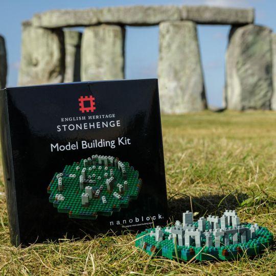 Stonehenge Nanoblock Model Building Kit